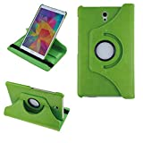 COOVY® 2.0 Cover für Samsung Galaxy TAB S 8.4 SM-T700 SM-T701 SM-T705 Rotation 360° Smart Hülle Tasche Etui Hülle Schutz Ständer | grün