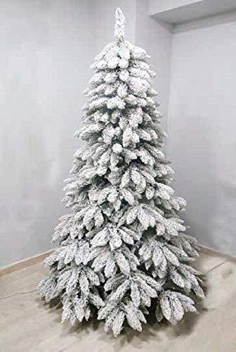 Salone Negozio Online Albero di Natale TARVISIO CM.150 Rami in PE-PVC Base CM.90 Interno/Esterno