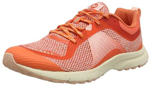 Merrell Banshee, Zapatillas de Running para Asfalto para Mujer, Naranja (Goldfish), 38 EU