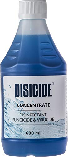 Disicide Concentrate 600Ml. Vegan Virucidal And Bactericidal For Medical, Barbers And Professionals. Sterilizer. 600 ml