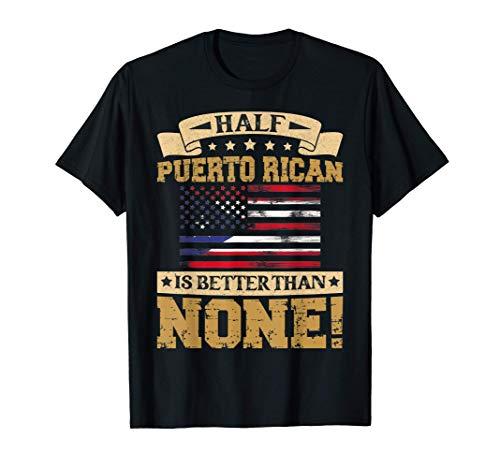 Puerto Rican Shirt Funny Vintage Pride T-Shirt