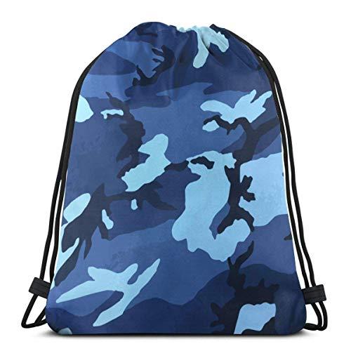 CTRGSM Drawstring Backpack Gym Sack Cinch Bag String Bag Bolsas con cordón Mochila con cordón con estampado liviano Bolsa de almacenamiento Bolsa de gimnasio Mochila para hombres y mujeres