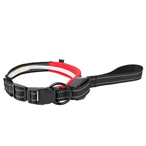 Hffheer Hondenriem, Puppy nylon reflecterende stretchable pulling kabel hondenwikkeltouw trainer lijn voor kleine hond training lopen