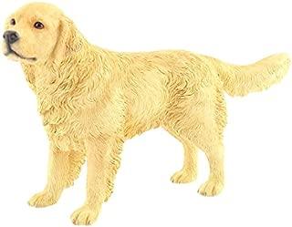 Leonardo Collection Retriever Ornament Dog, Stone, Gold, 19 x 5 x 11 cm