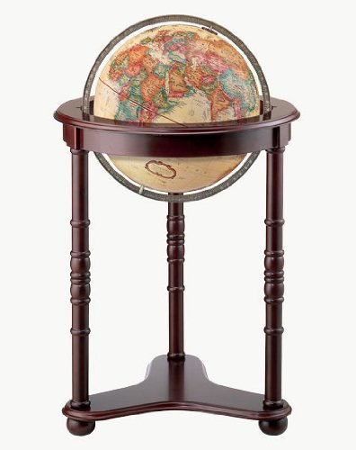 Replogle Globes Westminster Globe, Antique Ocean, 16-Inch Diameter, Large, Off/Off/White