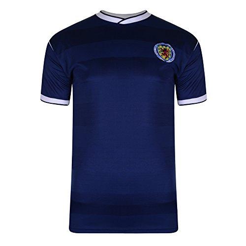 Score Draw Schottland 1986 Shirt Blau blau Xx-Large