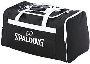 Sac de Sport Mixte Adulte Noir W x H x L Negro Spalding Premium Messenger 15x24x45 Centimeters