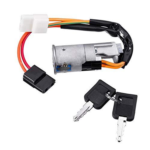 Interruptor de Barril de Bloqueo de Encendido con 2 llaves Aptas para Vauxhall Movano Vivaro/Renault/Opel/Nissan 7701038365 7700765533