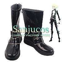 リオ・フォーティア プロメア PROMARE コスプレ 靴 ブーツ コスプレ靴 cosplay オーダーサイズ/スタイル 製作可能 【Sanjucos】(26cm)
