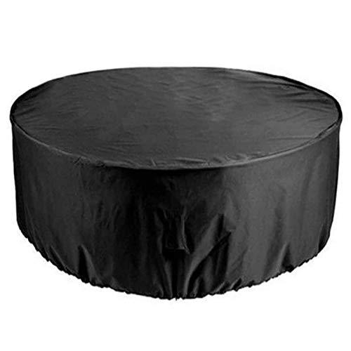 ZXHQ Redondo JardíN Mesa Funda 100x70cm, Protectora para De Patio Silla, Cubierta Protectora Muebles ProteccióN contra Nieve Resistente Al Polvo para Sofa Mesas Y Sillas