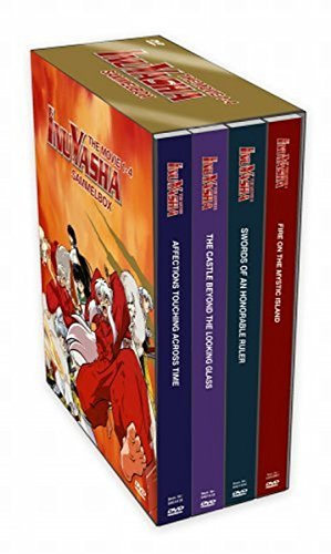 Inu Yasha - The Movie 1-4 (4 DVDs)