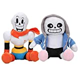 Fulinmen 2pcs 30cm Anime Undertale Plush Toys Undertale Sans Papyrus Asriel Toriel Stuffed Plush Toys Doll for Kids Children Gift