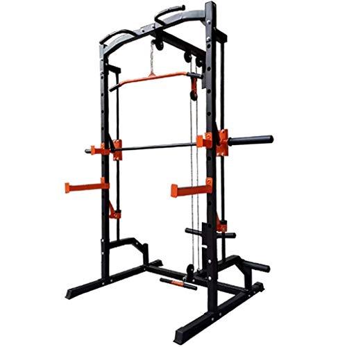 YLJYJ Squat Rack Gabbia di Sollevamento Pesi Squat Rack Bench Press Portal Frame Bilanciere Rack Smith Allenamento Completo Attrezzatura per Il Fitness Allenamento della Forza