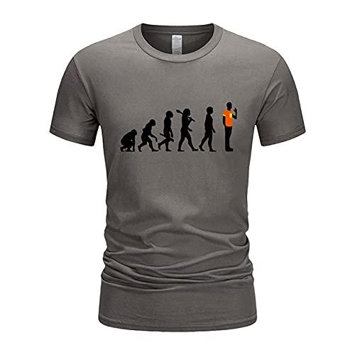 SSBZYES Camiseta De Verano, Camiseta De Manga Corta para Hombre, Camiseta Estampada De Manga Corta para Hombre, Camiseta De Pareja para Hombre, Talla Grande