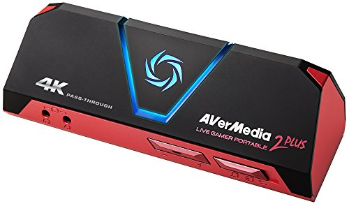 AVerMedia Live Gamer Portable 2 PLUS AVT-C878 PLUS [4Kパススルー対応 ゲームの録画・ライブ配信用キャ...