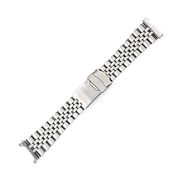 Fashion Shopping Seiko 22mm Jubilee Watch Band – Stainless Steel- for Models Diver SKX007, SKX009,