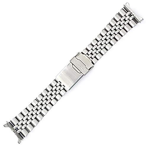 Seiko 22mm Jubilee Watch Band - Stainless Steel- for Models Diver SKX007, SKX009, SKX171, SKX173, SKX175, SKX175 Cal.7S26