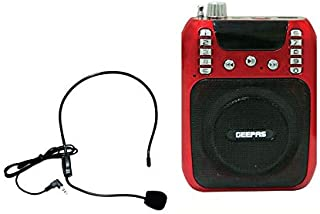 GEEPAS RECHARGEABLE MINI SPEAKER WITH MIC - GMP15013