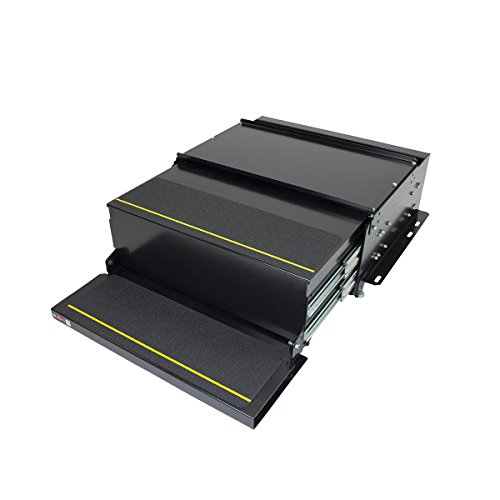 Kwikee 372779 42 Series Slide Style Step Assembly with Logic Control Unit and No Switch Kit