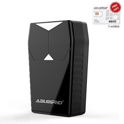 ABLEGRID GPS Tracker loT-NB CaT-M 4G Real-time GPS Tracking Device Small Hidden GPS Locator for...