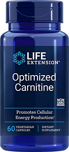 Life Extension Optimized Carnitine, 60 Vegetarian Capsules