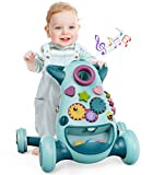 GeyiieTOYS Interactive Baby Walker 3 Stage Push Along Walker for Kids 6 Months Plus