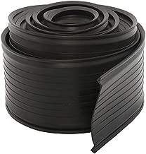 DasMarine Garage Door Bottom Weather Stripping Rubber Seal Strip Replacement,Weatherproofing Universal Sealing T Rubber,5/16