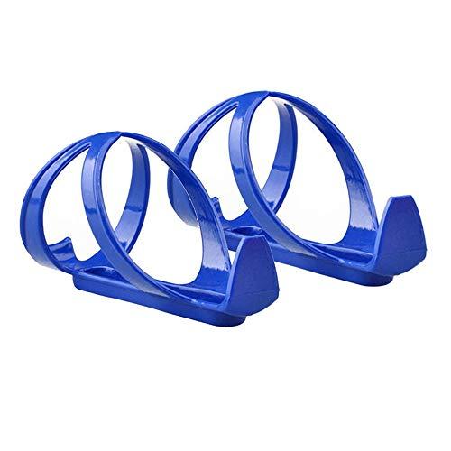 ATRISE Bicycle Cycling MTB Water Bottle Cages, Basic Bike Water Bottle Holder,Alloy Aluminum Lightweight Water Bottle Holder Cages Brackets (Blue)