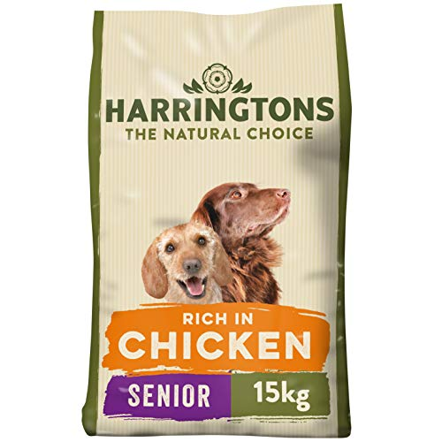 Harringtons Complete Senior Dry Dog Food Rich in Chicken and Rice, 15 kg