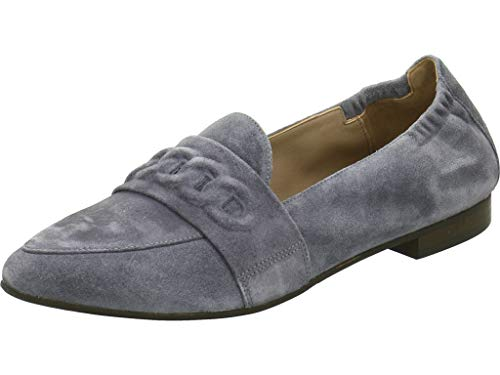Via Vai Damen Ballerinas Denim 5001048 grau 419296