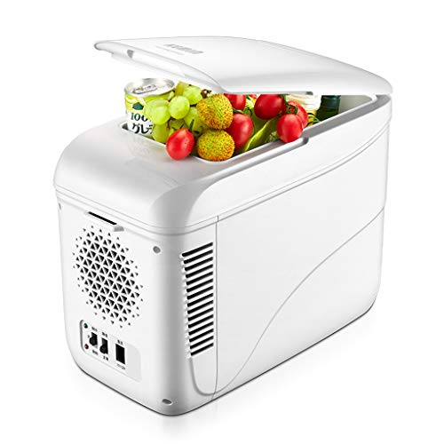 Great Price! Car Refrigerator Mini Fridge Vehicle Portable Cool Box Car Cooler Warmer Multifunction ...