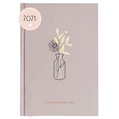 Odernichtoderdoch Kalender 'Wild Flowers' - Glückskalender 2021, 13,5 cm x 18,5 cm