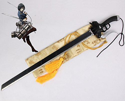 Il Nuovo Mondo Schwert Eren Angriff der Riesen SNK Levi Mikasa Schwert Katana