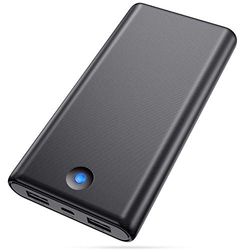 Portable Charger 25800mAh,Power Bank High Capacity Dual USB Output Port External Battery Pack Ultra Compact Slim Phone Charger for Smart Phones,Android Phones,Tablet and Other Devices