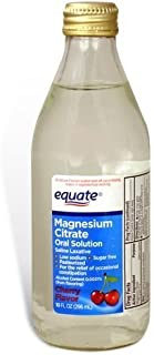 Equate Magnesium Citrate, Oral Solution, Saline Laxative, Cherry Flavor, 10 fl. Oz.