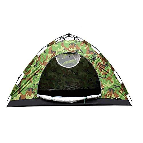 LIUJIE Twee-persoons camouflage automatische tent Buiten camping wigwam, waterdicht lichtgewicht insectenwerend Dubbele tent ultra licht veld camper picknick