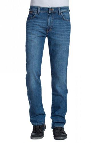 Wrangler Jeans Texas Stretch Regular Tapered worn broke (W40/L32)