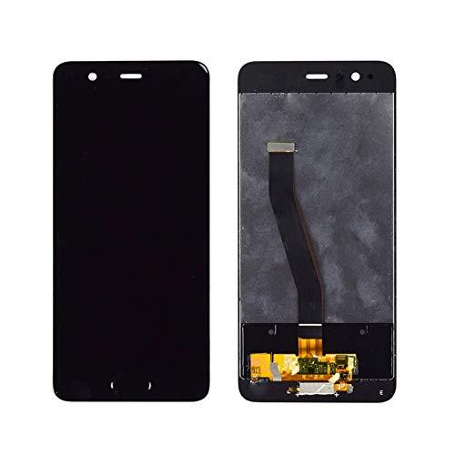 lilili Ajuste De Reemplazo De Montaje De Fit For Huawei P10 LCD Pantalla Táctil Digitalizador con Reemplazo De Marco Cristal Tactil Digitalizador Reemplazo de Pantalla LCD (Color : White with Frame)