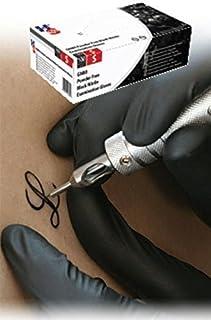 Se puede meter en el mano GN80 sin polvo de nitrilo guantes