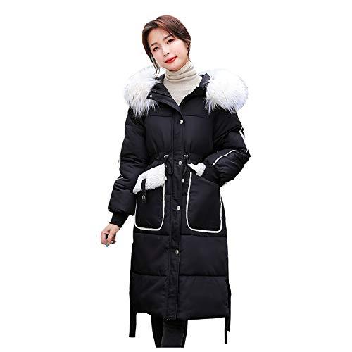 Dasongff Damen Winter Jacke Steppjacke Mantel Parka gesteppt Warm Plüschmantel Oberbekleidung Outwear Fahsion Frottee-Kapuzenjacke Langen übergangsjacke