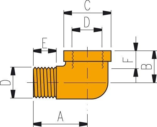 ENERPaC hochdruckverschraubung fZ 1616 3/8 \