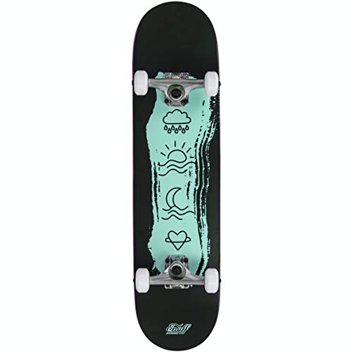 Enuff Skateboards Icon Mini Complete Skateboard, Adultos Unisex, Green (Verde), 7.25 x 29.5