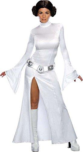 SMIFFYS Costume delle Donne: la Principessa Leia - Star Wars 3 Parti - S