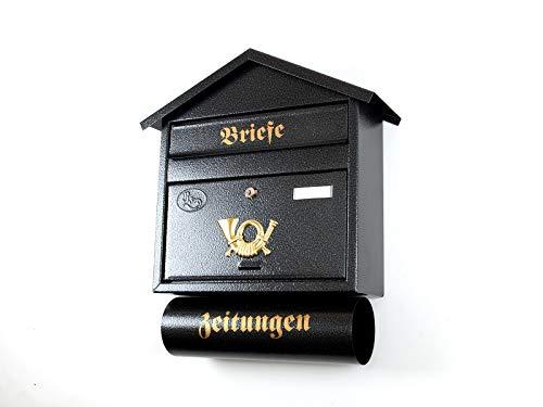 S grande batovi shpitz tetto Nero antracite Grigio scuro giornale pluridisciplinare giornale rotolo Post nischenmarkt
