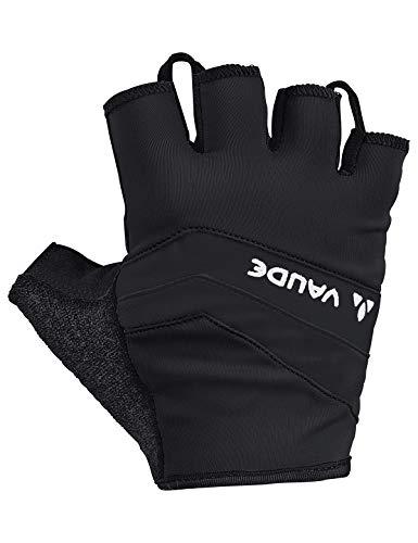 VAUDE Herren Active Gloves Kurzfinger-Radhandschuh, black uni, 10, 044820511000