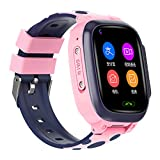 Y95 Kids Smartwatch Phone with GPS Tracker, 4G WiFi Bracelet with 2 Way Call SOS Camera Voice & Video Chat Pedometer, Waterproof Wrist Watch Security Fence Gift for Children Teen Students