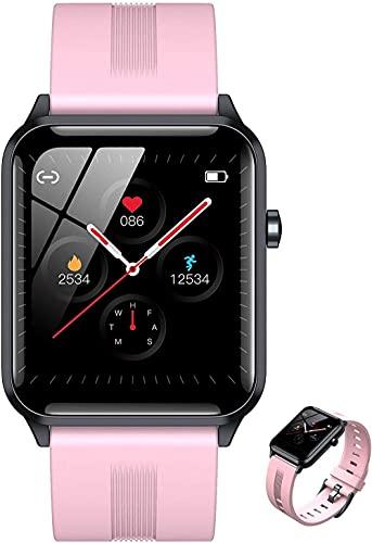 Pulsera inteligente de seguimiento de la aptitud de los deportes, monitor podómetro, reloj de la actividad del cronómetro del contador de calorías, color rosa