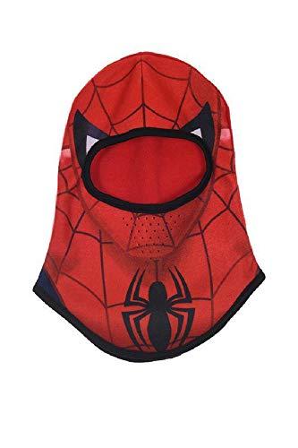 Spiderman muts, volgelaatsmasker, unisex, kinderen, meerkleurig, eenheidsmaat