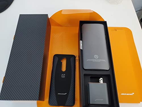 OnePlus 7T Pro McLaren Edition, Smartphone AMOLED Display 90Hz Power Screen (12 GB RAM + 256 GB Storage, Triple Camera + Pop-Up Camera, Warp Charge 30), Bluetooth, Android, 6.67', Naranja
