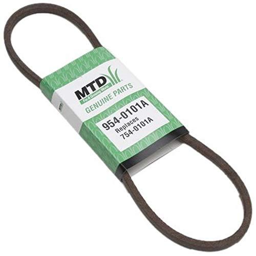MTD 954-0101A Replacement Snow Thrower Auger Belt,0.5x35-Inch